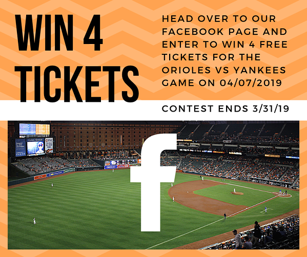 Orioles vs. Yankees ticket giveaway!