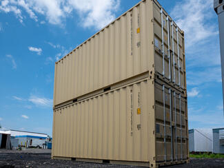 Vertical Repurposed Shipping Storage Containers