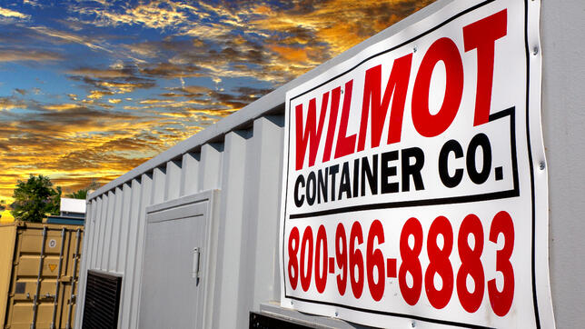 Wilmot Shipping Containers Repurposed
