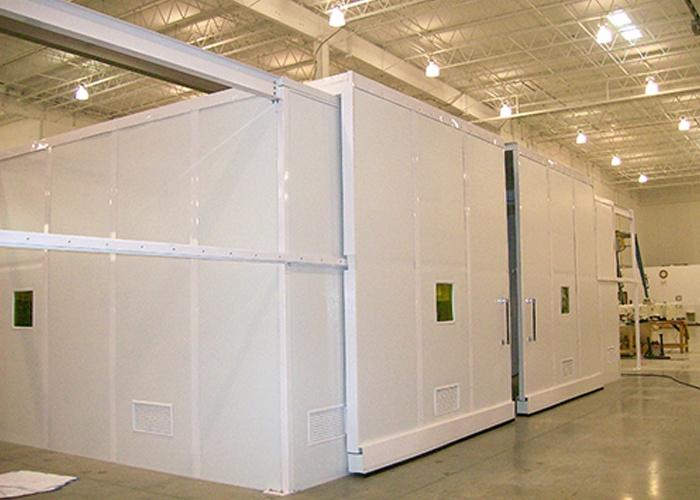 Cleanrooms Modular Mezzanine System