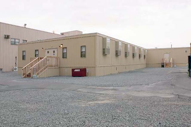 Commercial Offices and Custom Storage Containers