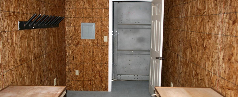 modular storage space