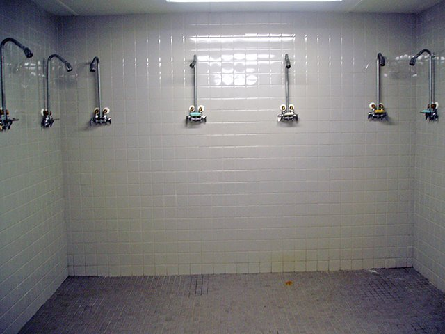 Shower in Custom Shipping Containers