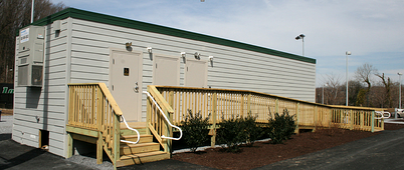 Loyola Modular Restroom Building