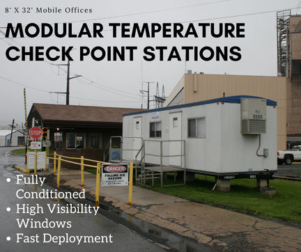 Modular Temperature Check In Stations Ad