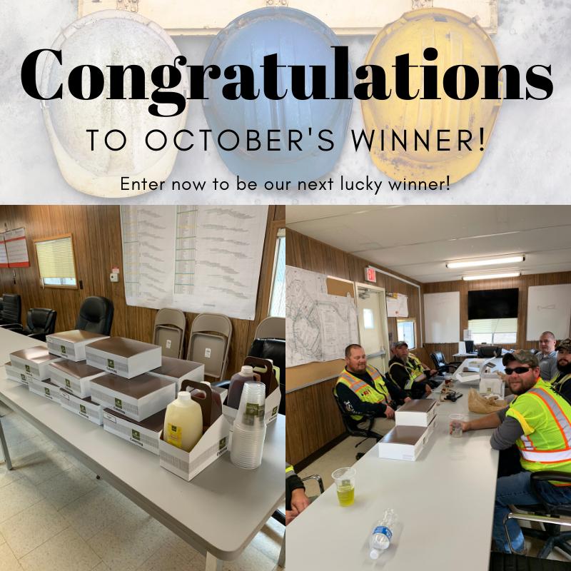 Octobers Winner