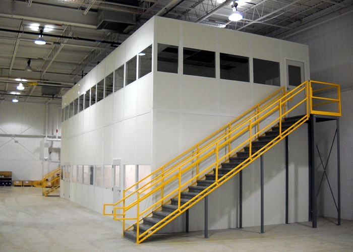 Stair Systems Mobile Office Space