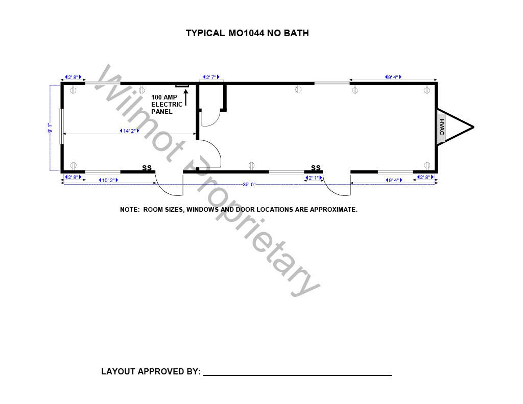 mobile office floor plan