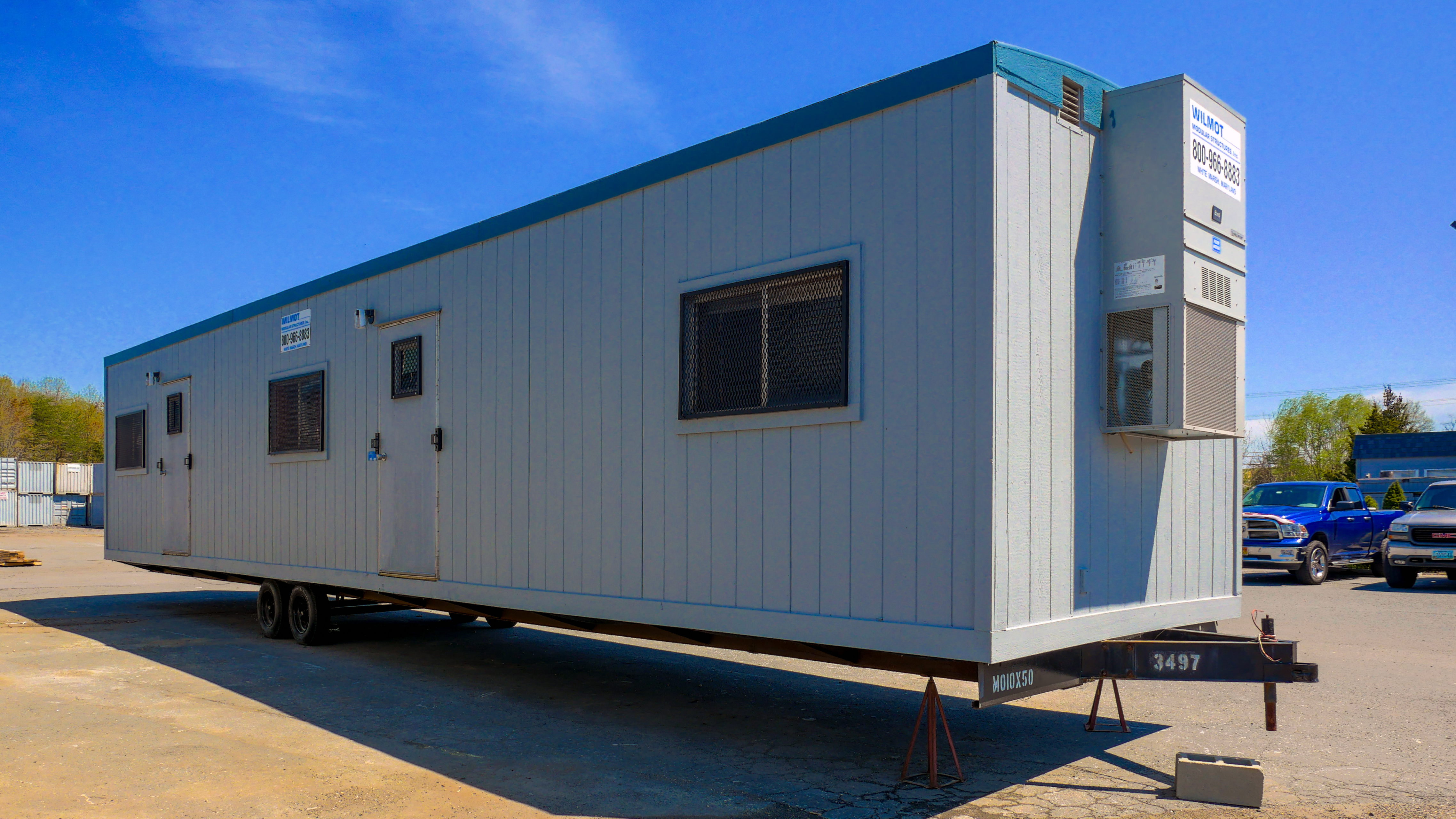 Custom Mobile Office Building Space Solutions | Wilmot Modular