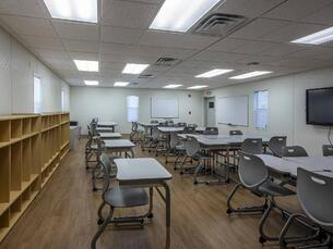 Schools' Custom Modular Classroom Building