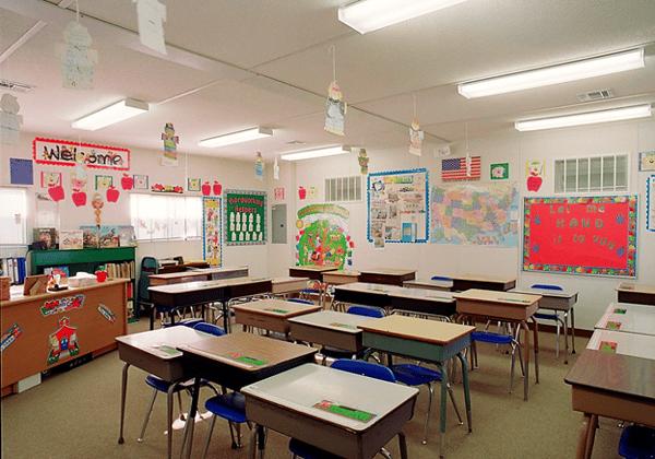 Positive portable classroom environment
