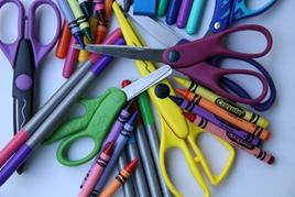 Scissors in portable classrooms and modular school buildings