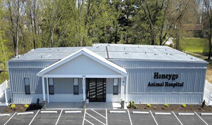 Healthcare office as a modular building solution