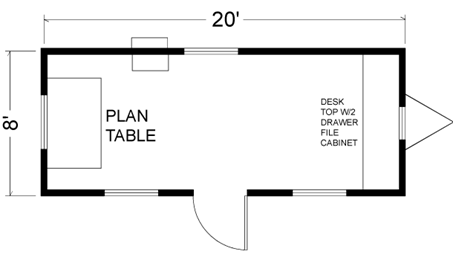 8X20 mobile office