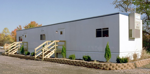 Mobile office building provided by Wilmot. Click here for more information.