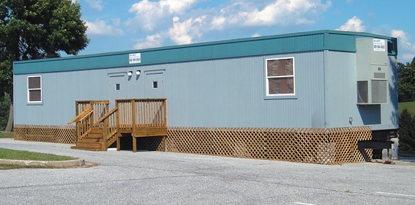 Mobile office space provided by Wilmot Modular Structures