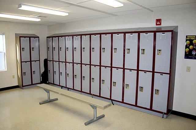Locker Room and Custom Storage Containers