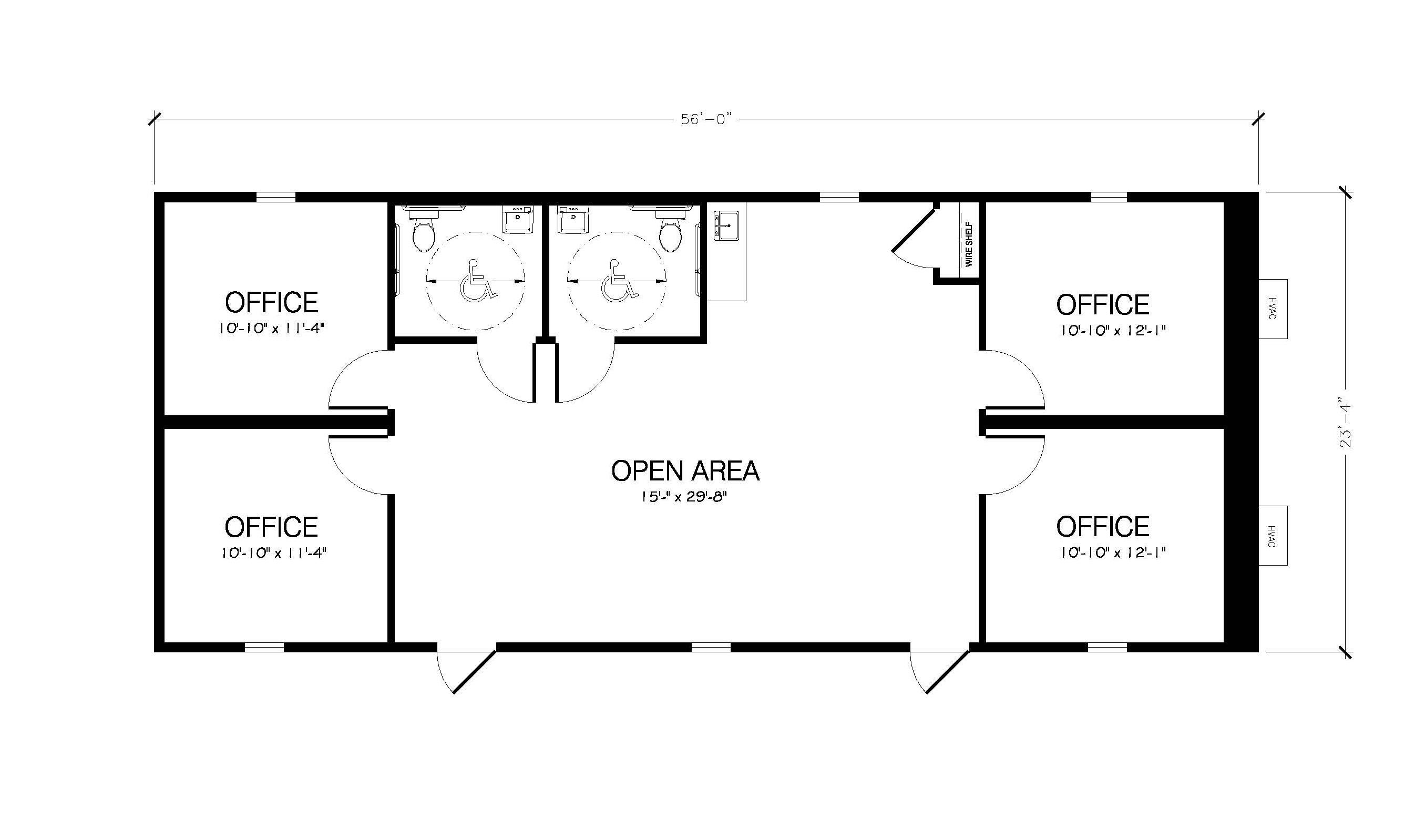 mobile office floorplans