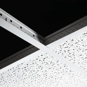 interior Ceiling with T Grid ceiling panels