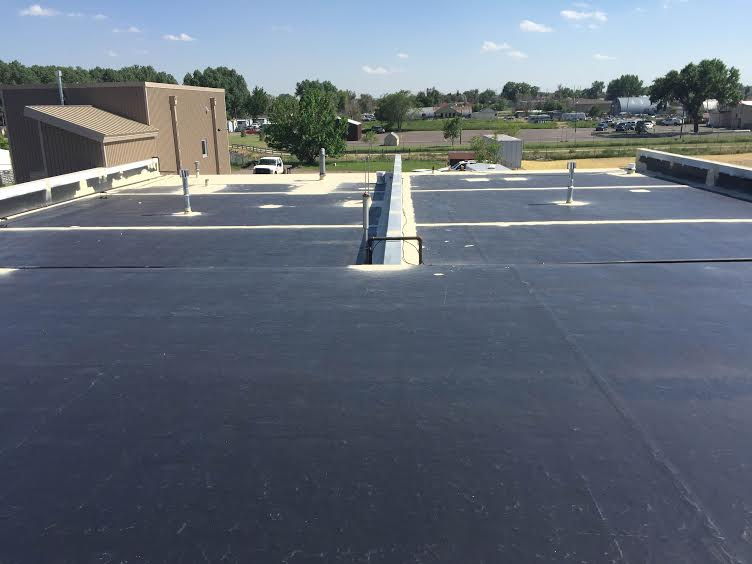 Exterior Finish Roof EPDM Black roof - EPDM