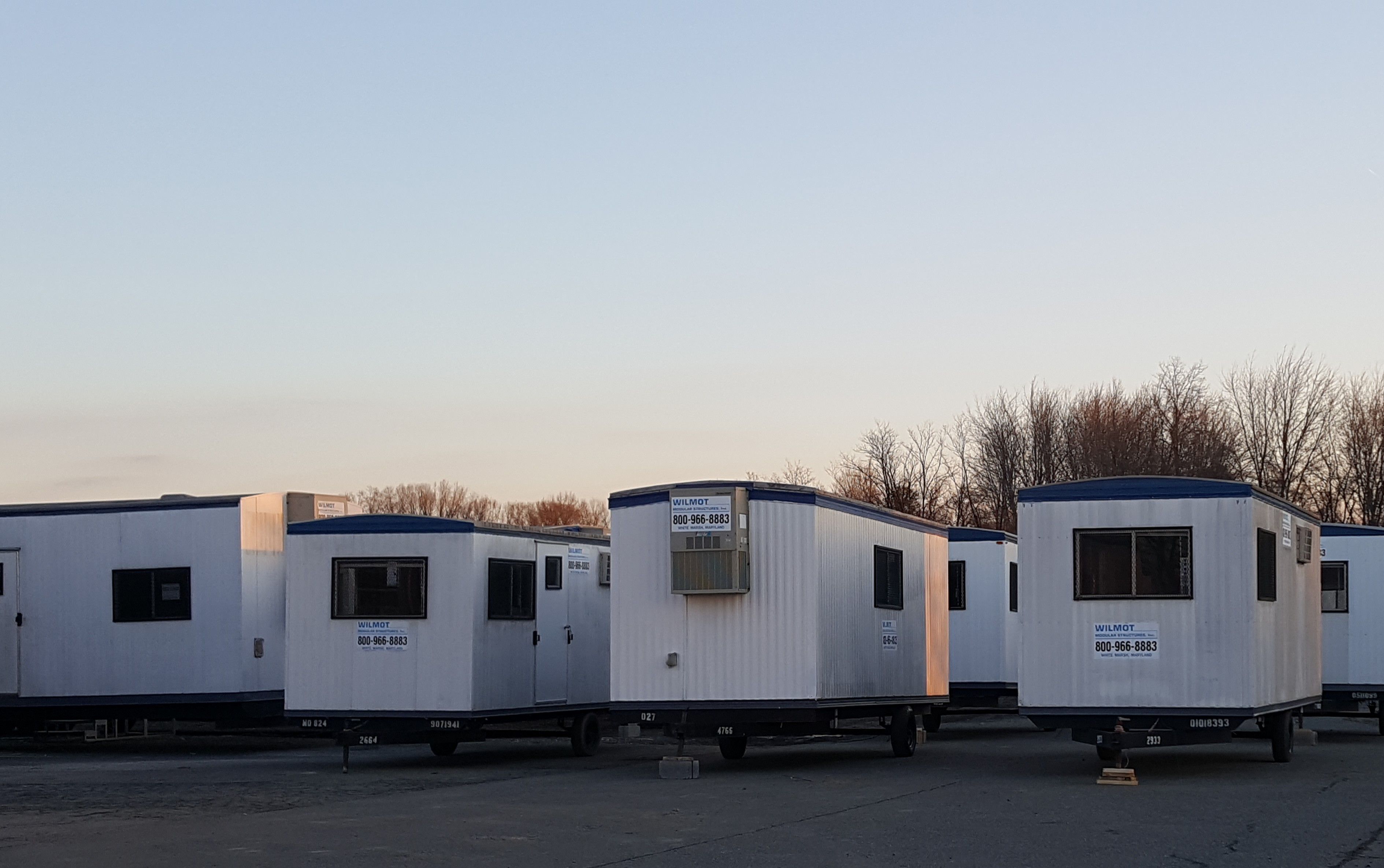 Mobile buildings from Wilmot Modular Structures