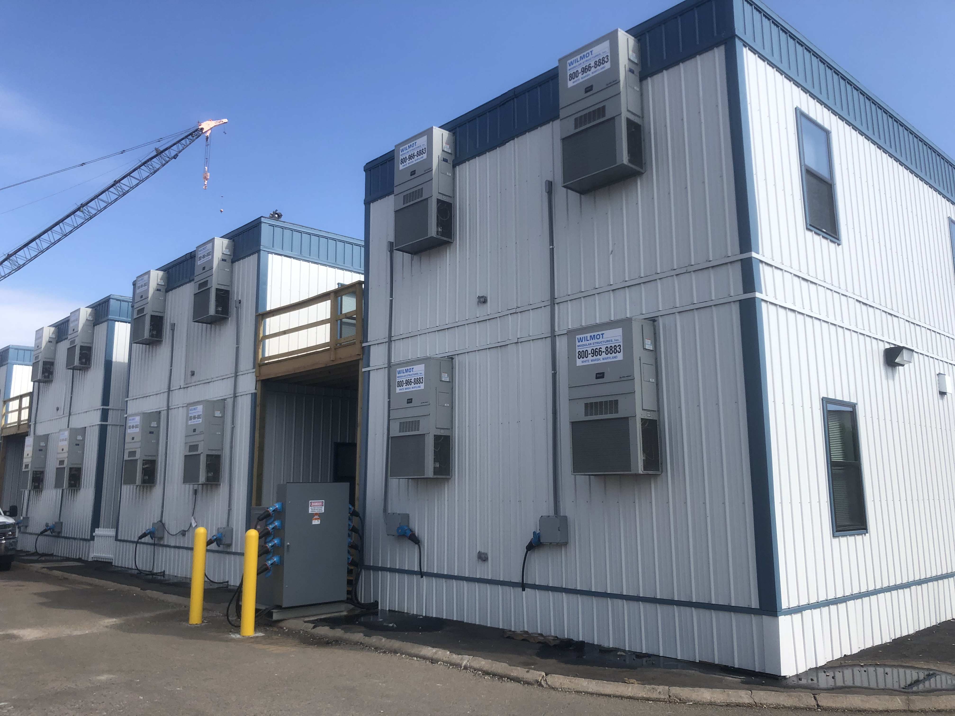 Two Story Modular Structure Offices