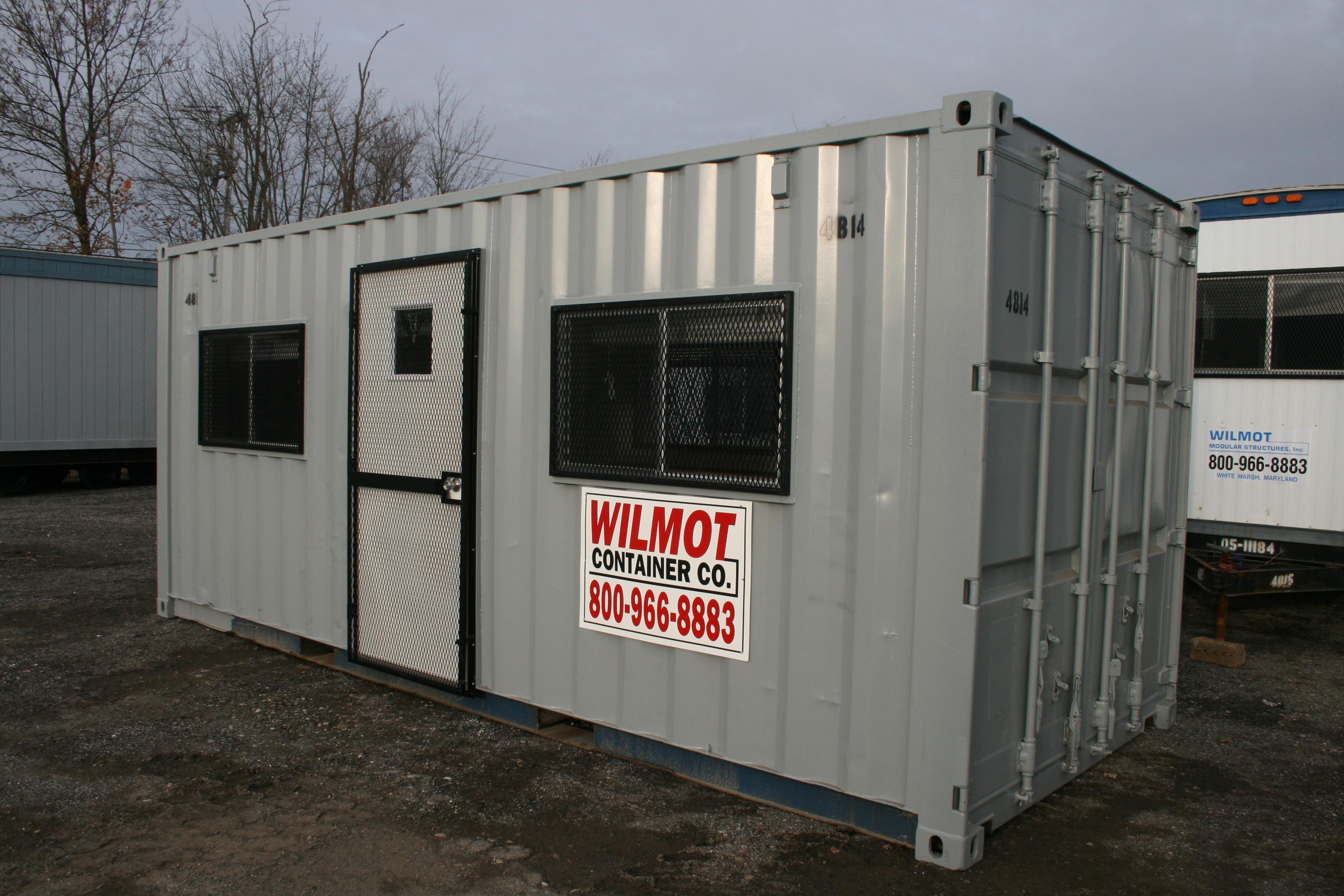 Mobile Custom Modular Storage Containers | Wilmot Modular
