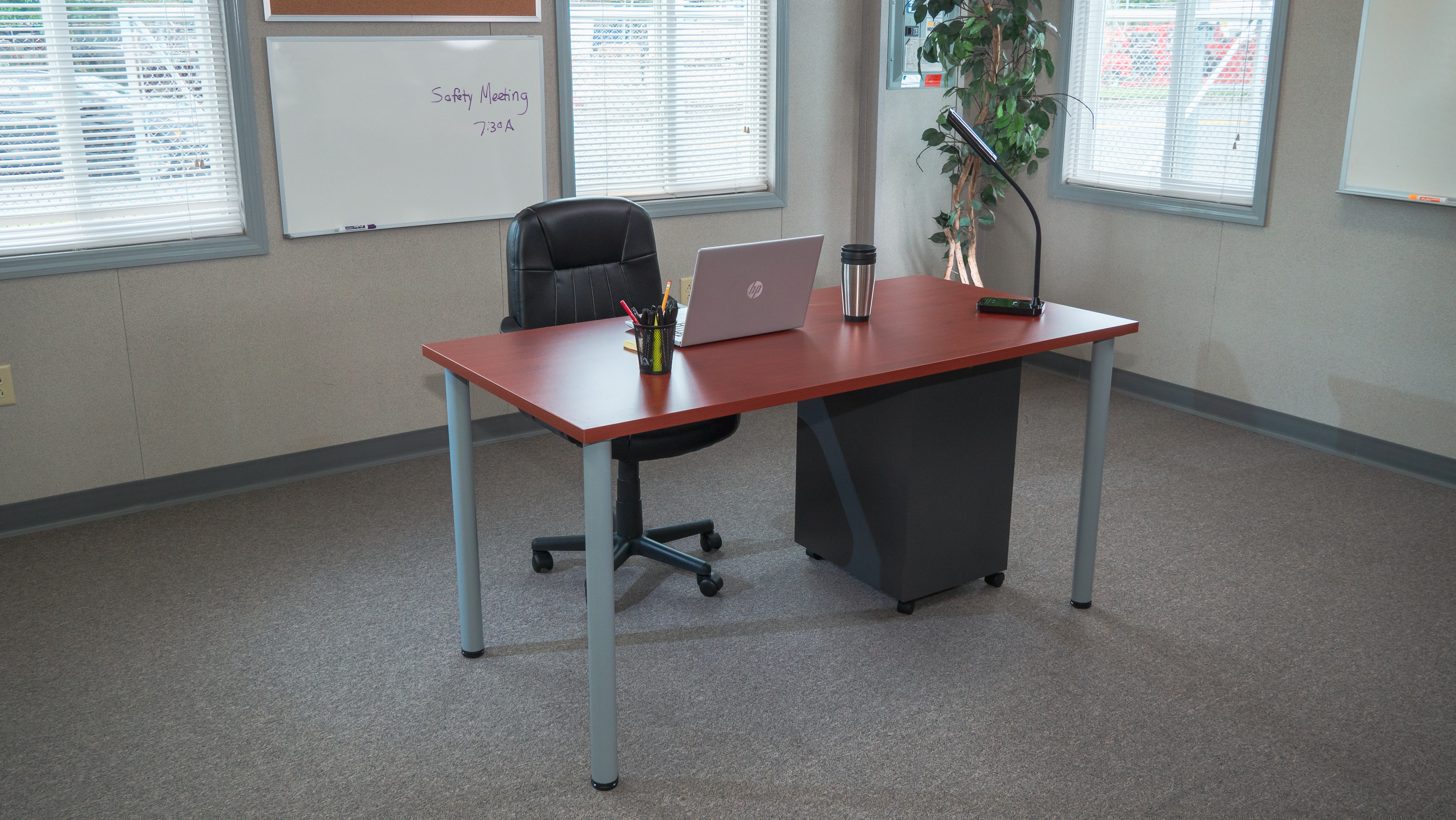 mobile office furniture package