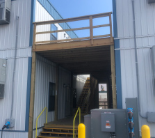 Modular structure for a hospital