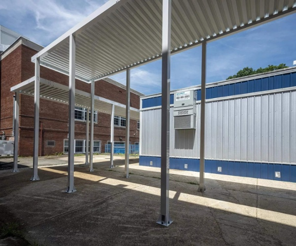 Anne Beers Elementary Canopy Modular Building